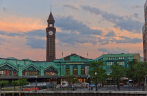Erie-Lackawanna Railroad and Ferry Terminal — Hoboken, NJ