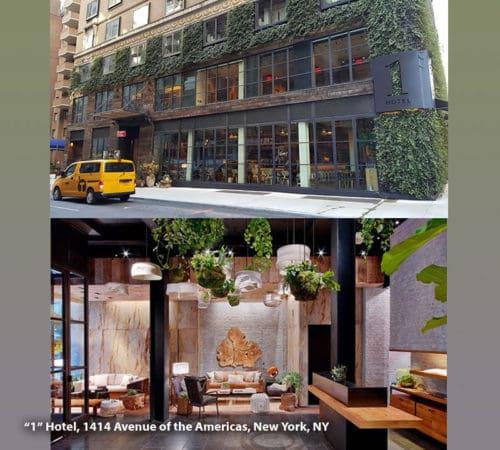 """1"" Hotel, 1414 Avenue of the Americas, New York, NY"
